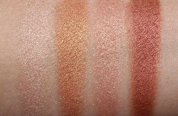 Glowgasm: Charlotte Tilbury Dreamgasm Luxury Palette Swatches