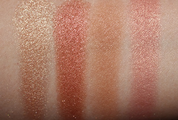 Charlotte Tilbury Lovegasm Face Palette Swatches
