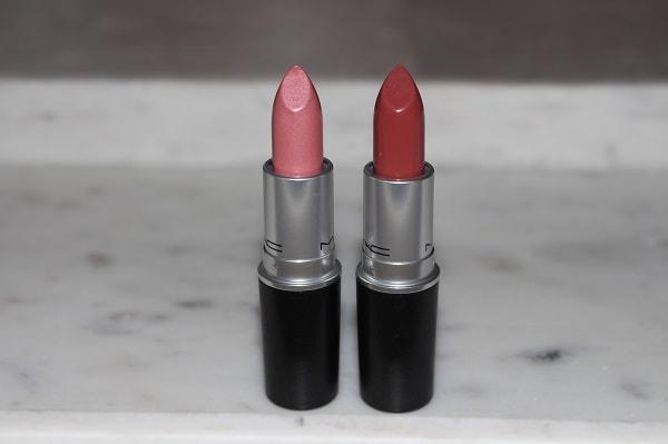 MAC Stripdown Collection Lipsticks - Pink Power & Smoked Almond