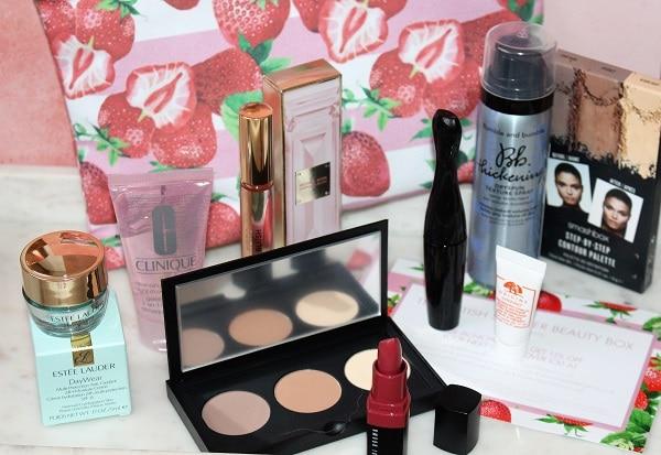 British Summer Beauty Box 2019 - Estee Lauder Companies