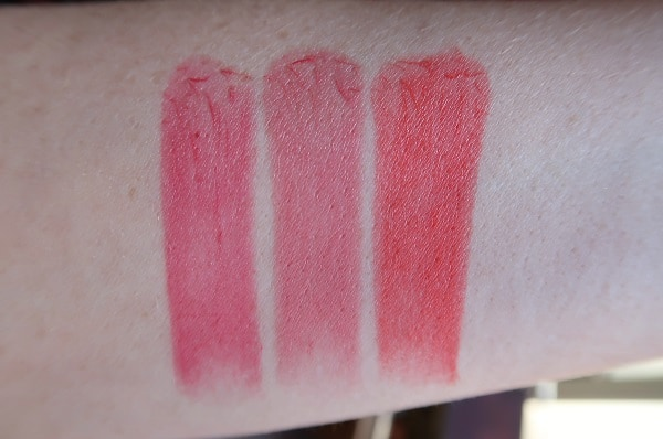 Chantecaille Limited Edition Asian Elephant Lip Veil Swatches