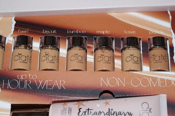 ciate foundation medium shades