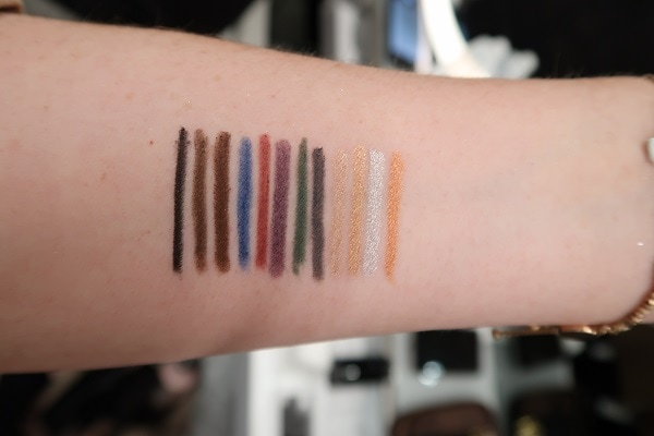 Tom Ford Emotionproof Liner Swatches