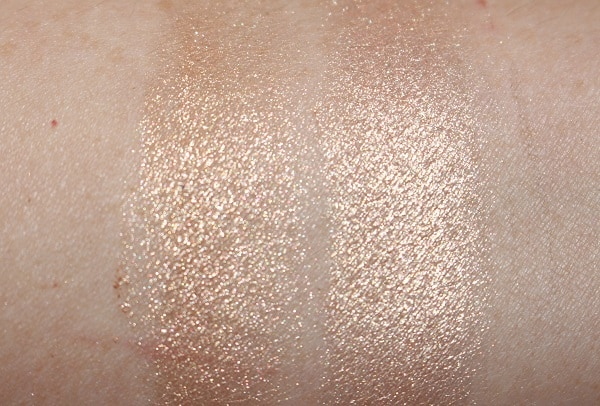 Glow Dust vs Pressed