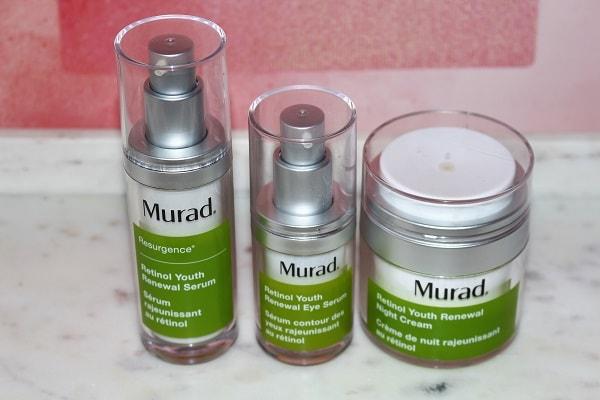 Murad Retinol Youth Renewal Range Review & 20% Off