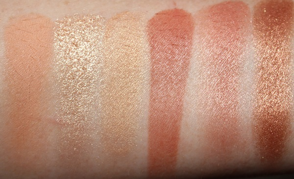 NARS Nectar Eyeshadow Palette Swatches