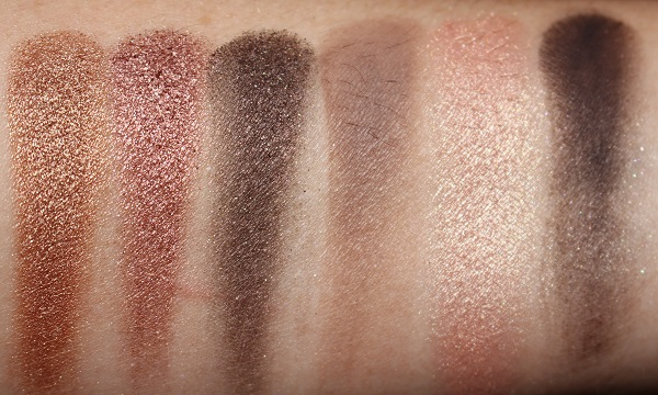 NARS Suede Eyeshadow Palette Swatches
