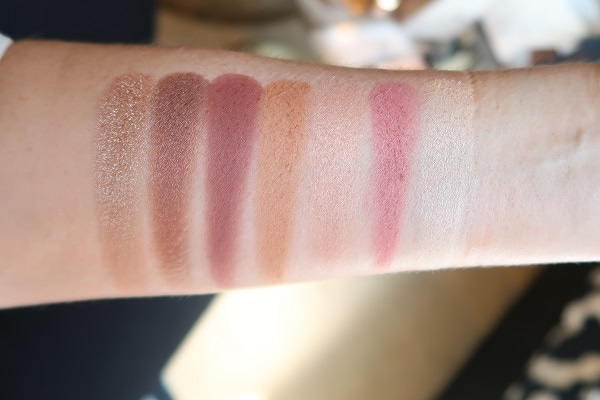 Charlotte Tilbury Gorgeous Glowing Beauty Instant Look in a Palette 2019 Swatches