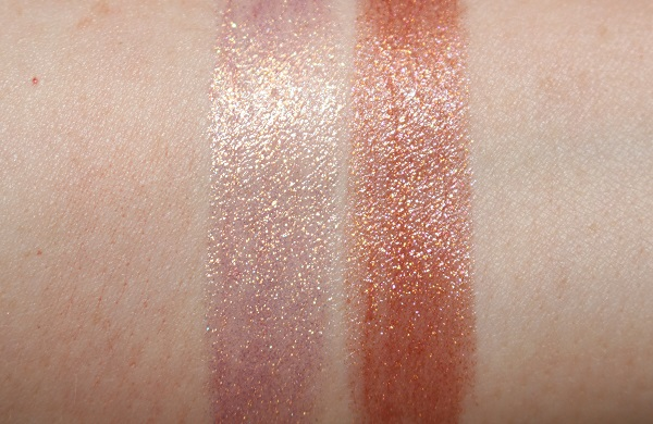 Charlotte Tilbury Pillow Talk Diamonds Swatches