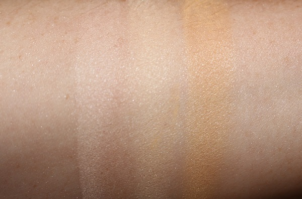 By Terry Hyaluronic Tinted Hydra-Powder Swatches - Fair, Natural, Medium Fair