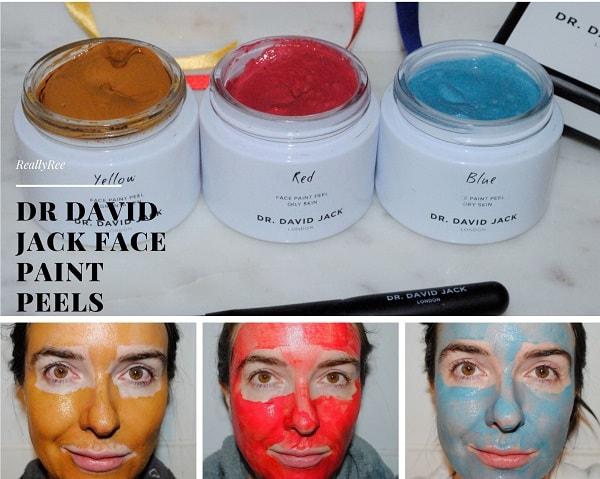 Dr David Jack Face Paint Peel Review