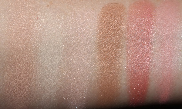 Hourglass Ambient Lighting Ghost Swatches