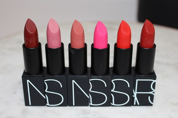 NARS 25 Iconic Lipstick - Matte: Fire Down Below, Catfight, Pigalle, Schiap, Intrigue, Immortal Red