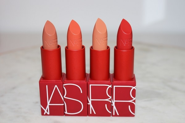 NARS 25 Iconic Original Lipstick - Satin: Blonde Venus, Casablanca, Honolulu Honey, Jungle Red