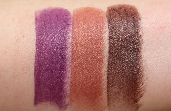 Swatches - Matte: Soul Train, Tonka, Dominatrix