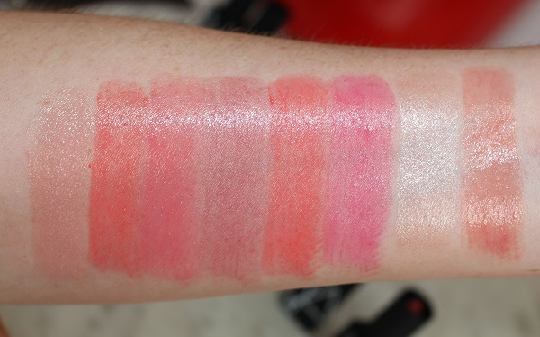 Swatches - Sheer: Little Princess, Start Your Engines, License to Love, Instant Crush, Living Doll, Bulgarian Rose, Sex Shuffle, Chelsea Girls