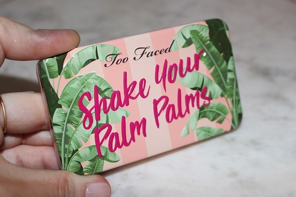 Too Faced Shake Your Palm Palms Palette