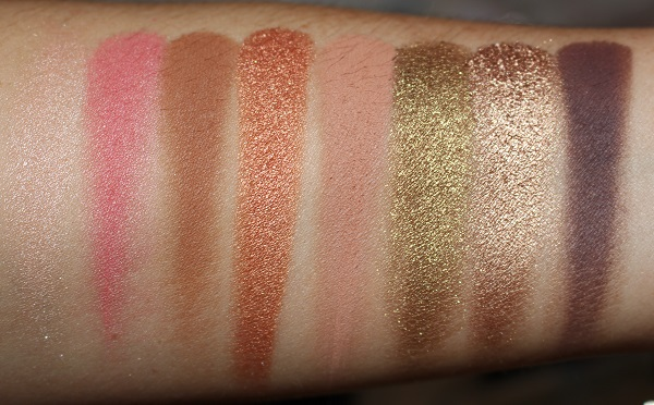 Too Faced Shake Your Palm Palms Palette Swatches