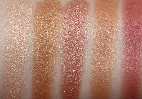 BECCA Pop Goes the Glow Champagne Pop Palette Swatches