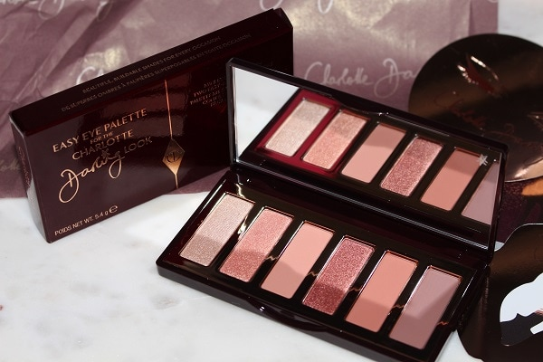 Charlotte Tilbury Charlotte Darling Palette Swatches