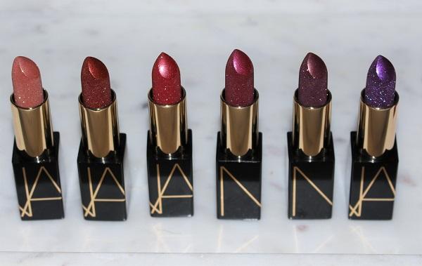 NARS Holiday 2019 Studio 54 Disco Dust Lipsticks
