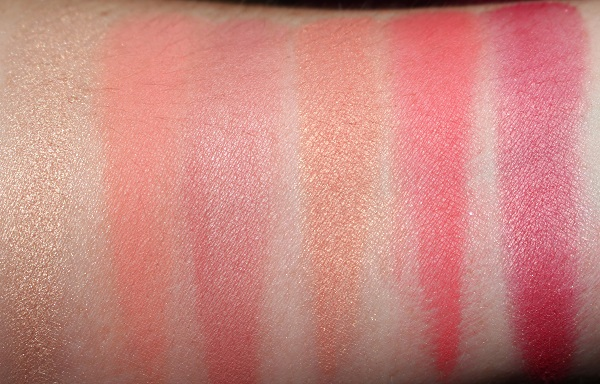 Free Lover Palette Swatches