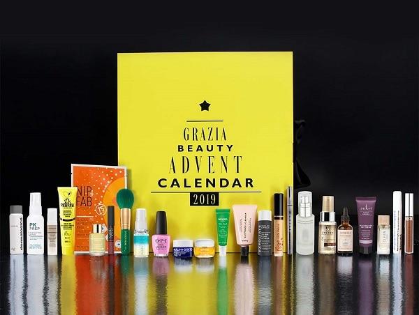 50% Off the Grazia Calendar in the Latest in Beauty Sale