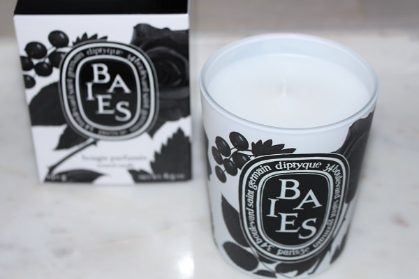 Diptyque Baies Black & White Candle for Black Friday 2019