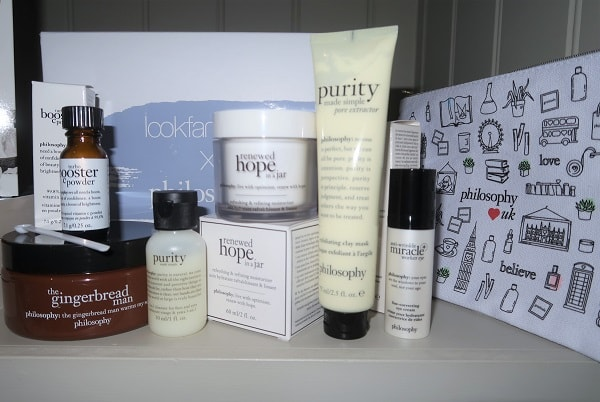 Lookfantastic X Philosophy Limited Edition Beauty Box