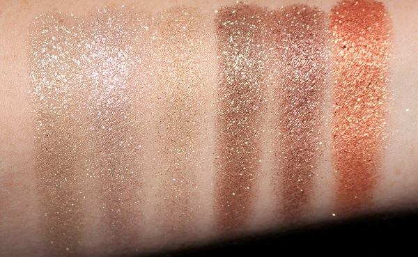 Urban Decay Party Favor Moondust Palette Swatches