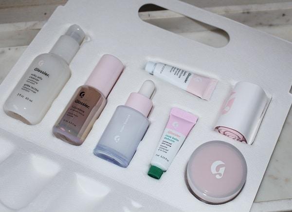 Glossier Skincare Edit Limited Edition Mini Set